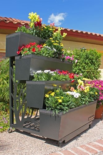 Create Dynamic Garden Style With Mobile Container Gardening